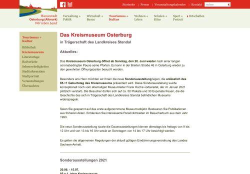 Kreismuseum Osterburg