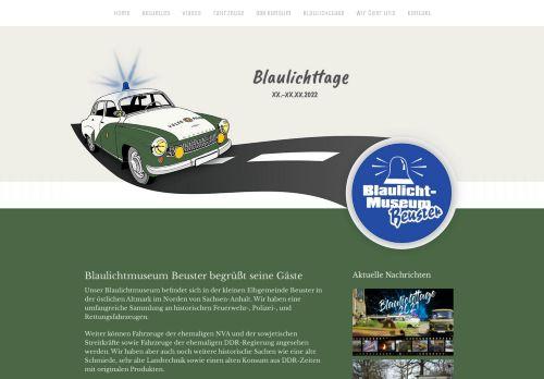 Blaulicht-Museum Beuster
